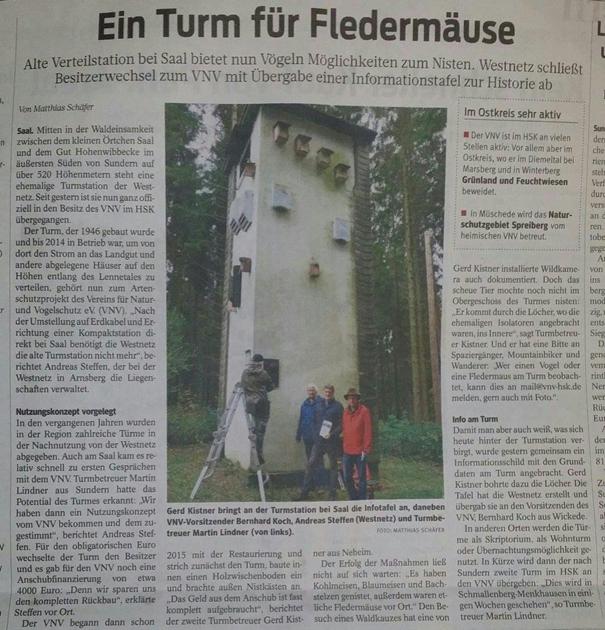 Ein Turm für Fledermäuse